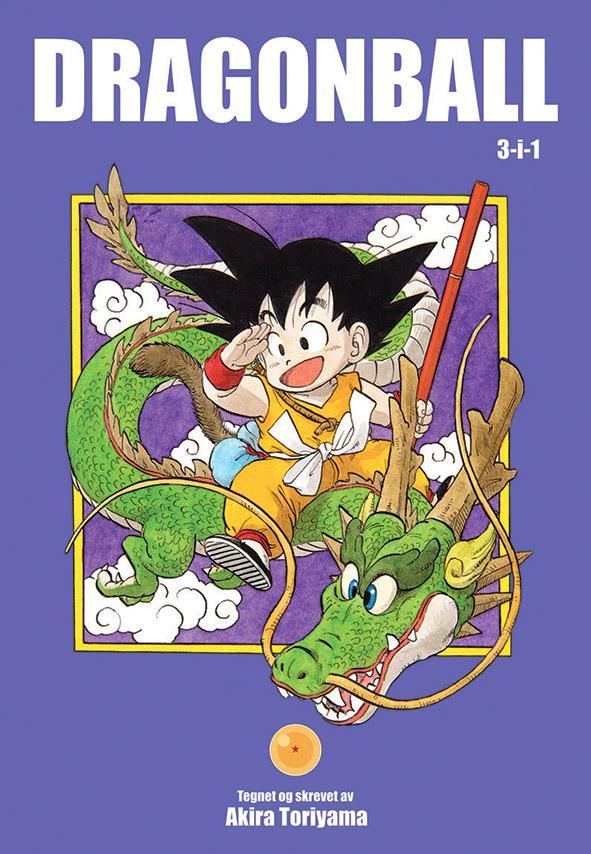 Dragon ball. 1,2,3