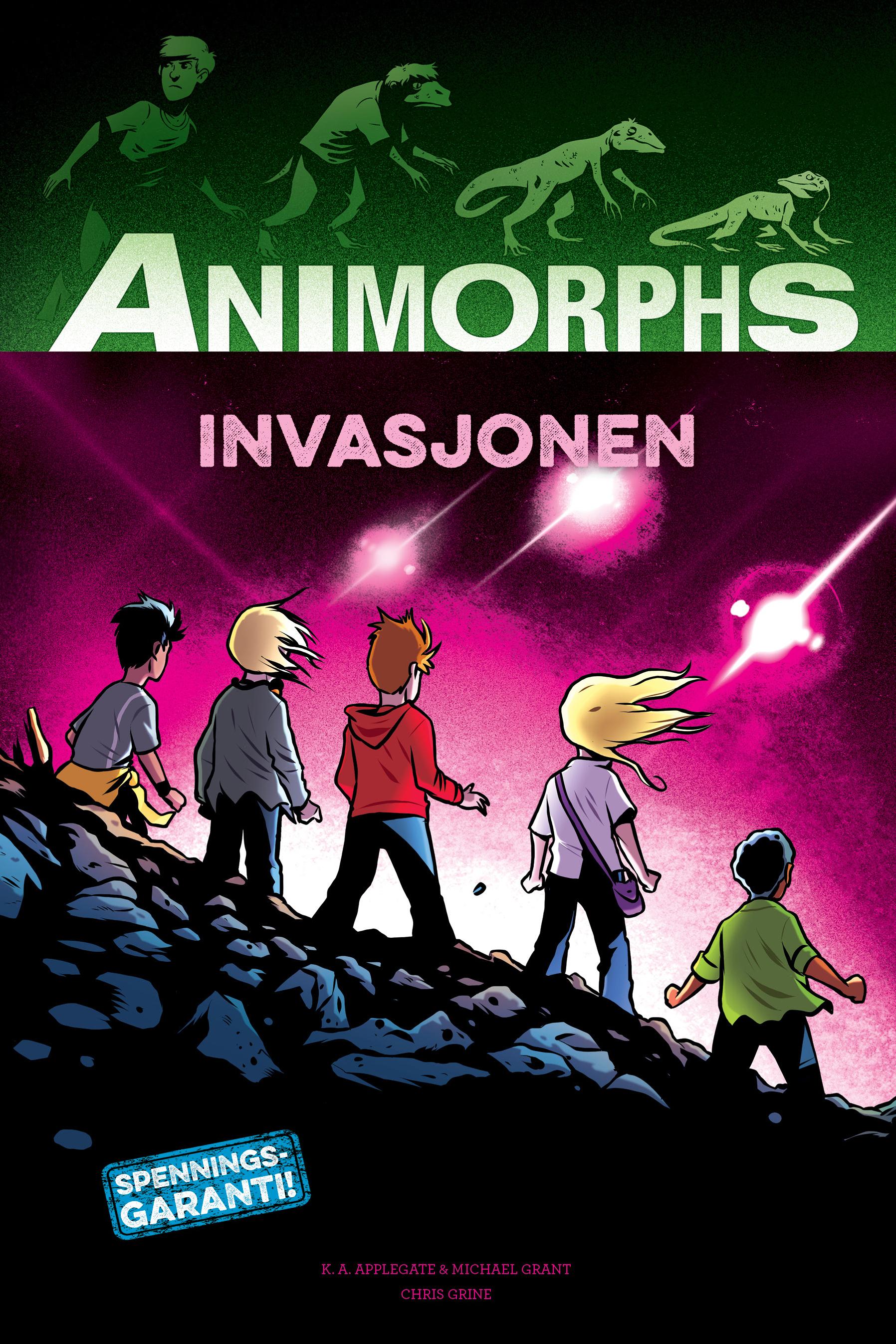 Animorphs. 1. Invasjonen